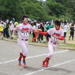 イベント参加 弘前城リレーマラソン