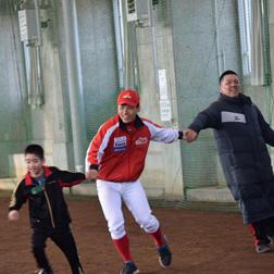 2017年3月20日(月・祝) A-field活動(親子キャッチボール&ティーボール教室)