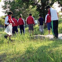 2015年5月24日(日) A-field活動(城東公園清掃活動)